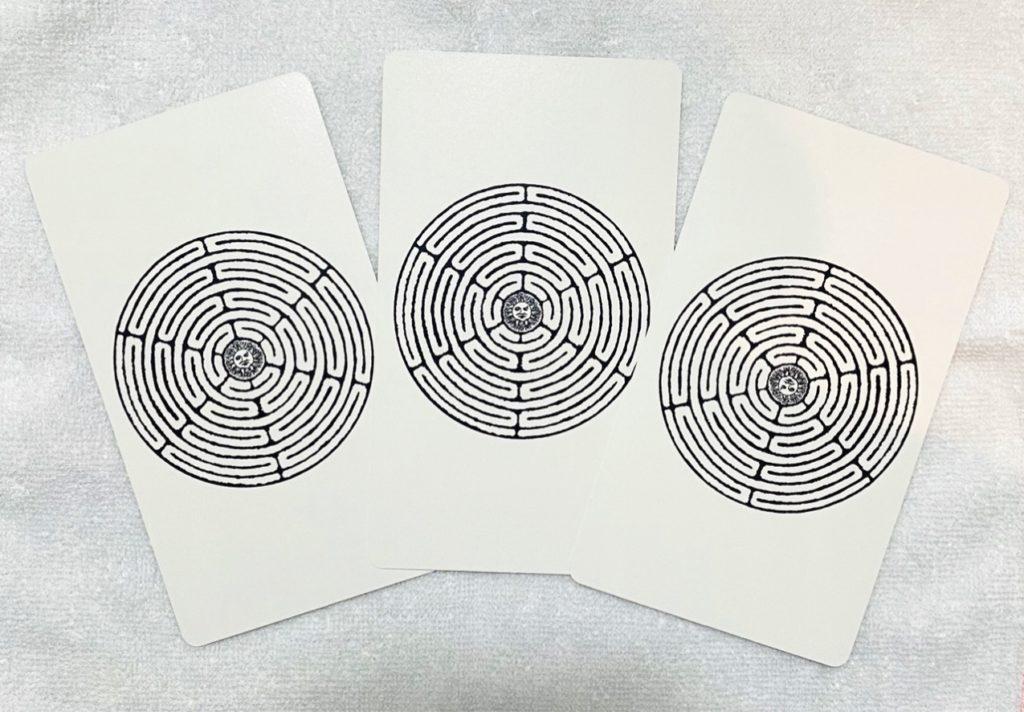恩恵のカード(裏)の画像