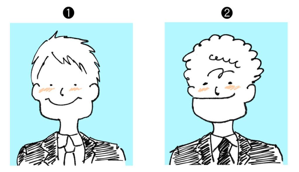 ギバーとテイカーを見分ける写真の使い方テスト